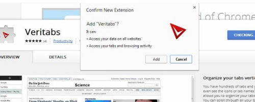 How to display Chrome tabs vertically.
